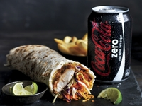 Chicken Embruhlo Wrap Combo from Oporto