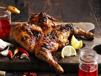 Whole Flame Grilled Chicken from Oporto