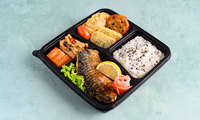 Mackerel Dosirak - Bibigo Kitchen Catering Photos from Bibigo Kitchen