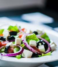 Greek Salad from Checkmate Pizza