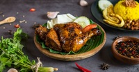 Grilled Chicken Set - Set Ayam Bakar from Ayam Penyet President