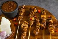 Chicken Satay - Satay Ayam from Ayam Penyet President