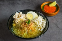 Chicken Soup - Soto Ayam from Ayam Penyet President