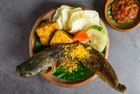 Fried Catfish - Lele Goreng from Ayam Penyet President