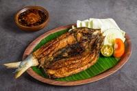 Grilled Boneless Milkfish - Bandeng Bakar Tanpa Duri from Ayam Penyet President