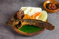 Grilled Catfish - Lele Bakar from Ayam Penyet President