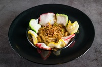 Steamed Vege in Peanut Sauce - Lotek from Ayam Penyet President