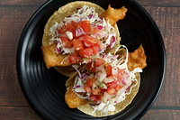 Baja Fish Tacos from Vatos Express
