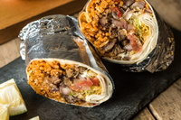 Burrito from Vatos Express