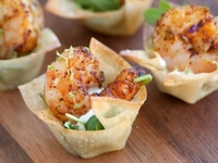 Crispy Wonton from A Fun Kitchen Catering