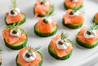 Salmon Tartare from A Fun Kitchen Catering