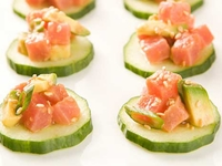 Tuna Tartare from A Fun Kitchen Catering