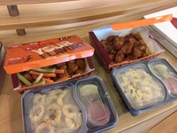 Customer Linda, Boneless Wings Platter from Wing Zone