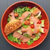 Salmon Caeser Salad from Thunderbird Bistro