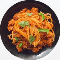 Spaghetti Bolognese from Thunderbird Bistro
