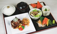 Tori Teriyaki To Shake Sashimi Set from Shin Minori