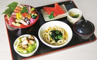 Chirashi Sushi Set from Shin Minori