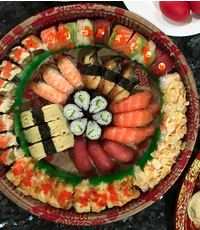 Customer Christine, Harvest Assorted Sushi & Maki Party from Shin Minori