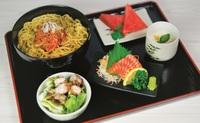 Buta Kimchi Ramen To Shake Sashimi Set from Shin Minori