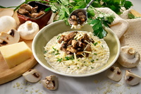 Truffle Mushroom Risotto from Posito Express