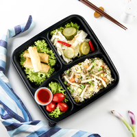 Vegetarian Fried Rice Bento from Seoul Garden