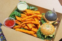 2 Sliders with Fries from KALE
