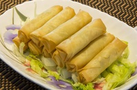 Vegetable Spring Rolls from Old Bibik's Peranakan Kitchen