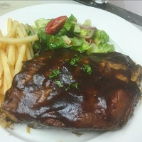 Baby Back Ribs from Brew N Chew