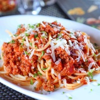 Spaghetti Bolognese from Brew N Chew