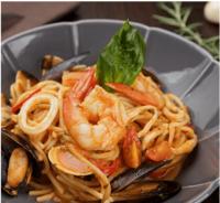 Spaghetti Marinara from Squisito