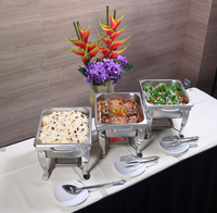 Lunch / Dinner Menu buffet catering set up - WE Cater from WE Cater