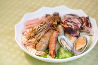 Grilled Meat & Seafood Platter from Just Helen's