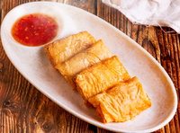 Fried Beancurd Skin Shrimp Roll from Old Cheng Du Restaurant
