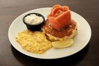 Salmon Ahumado Savoury Pancakes from Beyond Pancakes