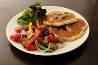 Le Poulet Savoury Pancakes from Beyond Pancakes