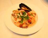 Seafood Spaghetti from Beyond Pancakes