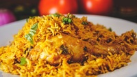 Chicken Briyani from Bumbu Masala
