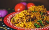 Mutton Briyani from Bumbu Masala