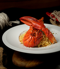 Half Lobster Aglio from Chunky Lobsters