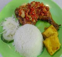 Ayam Belado Set from Sedap Ayam Penyet