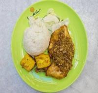 Ayam Sambal Hijau Set from Sedap Ayam Penyet