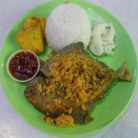 Bawal Penyet Set from Sedap Ayam Penyet