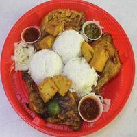 Platter B from Sedap Ayam Penyet