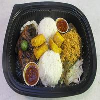 Platter E from Sedap Ayam Penyet