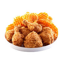 Hot & Spicy Chicken with CrissCut Fries - <KFC> Catering Photo from KFC