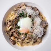 Mushroom Linguine from NUDE Seafood