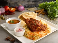Lamb Shank Biryani from Zaffron Kitchen