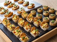 Box of Canapes - All Things Delicious Catering from All Things Delicious