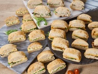 Box of Light Sandwiches - All Things Delicious Catering from All Things Delicious