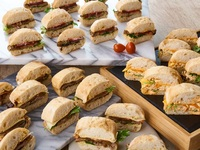 Box of Premium Sandwiches - All Things Delicious Catering from All Things Delicious